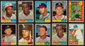 Baseball Cards:Lots, 1961 Topps Baseball Collection (271) With Mantle. ...