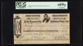 Confederate Notes:Group Lots, Confederate States Post Office Warrant Trans-Mississippi Department $78.91 Jan. 27, 1865. ...