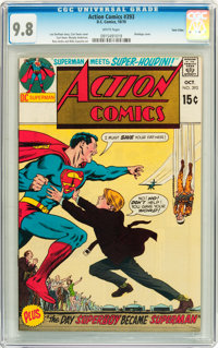 Action Comics #393 Twin Cities pedigree (DC, 1970) CGC NM/MT 9.8 White pages
