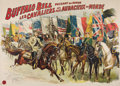 Western Expansion:Cowboy, William F. Cody: Buffalo Bill Wild West Show Poster....