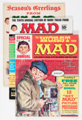 Magazines:Mad, Mad Reading Copies Group (EC, 1960s-70s) Condition: Average GD.... (Total: 9 Comic Books)