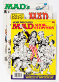 Magazines:Mad, Mad Trade Paperback Group (EC, 1970s-80s) Condition: AverageVF/NM.... (Total: 8 Comic Books)
