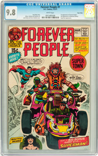 The Forever People #1 Twin Cities pedigree (DC, 1971) CGC NM/MT 9.8 White pages