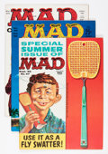Magazines:Mad, Mad #57, 58, and 60 Group (EC, 1957-61) Condition: Average VF....(Total: 3 Comic Books)