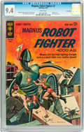 Silver Age (1956-1969):Science Fiction, Magnus Robot Fighter #3 Twin Cities pedigree (Gold Key, 1963) CGCNM 9.4 White pages....