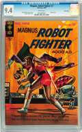 Silver Age (1956-1969):Science Fiction, Magnus Robot Fighter #7 Twin Cities pedigree (Gold Key, 1964) CGCNM 9.4 White pages....