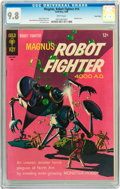 Silver Age (1956-1969):Science Fiction, Magnus Robot Fighter #14 Twin Cities pedigree (Gold Key, 1966) CGCNM/MT 9.8 White pages....
