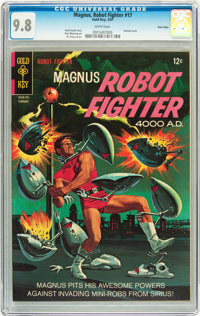 Magnus Robot Fighter #17 Twin Cities pedigree (Gold Key, 1967) CGC NM/MT 9.8 White pages