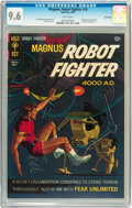 Silver Age (1956-1969):Science Fiction, Magnus Robot Fighter #19 Twin Cities pedigree (Gold Key, 1967) CGCNM+ 9.6 White pages....