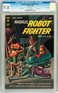Silver Age (1956-1969):Science Fiction, Magnus Robot Fighter #23 Twin Cities pedigree (Gold Key, 1968) CGCNM/MT 9.8 White pages....