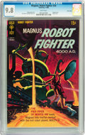 Silver Age (1956-1969):Science Fiction, Magnus Robot Fighter #24 Twin Cities pedigree (Gold Key, 1968) CGCNM/MT 9.8 White pages....