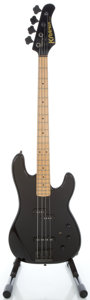 Musical Instruments:Bass Guitars, Kramer 700ST Black Electric Bass Guitar, Serial #SD4758....
