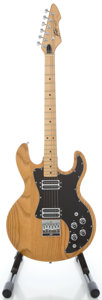 Musical Instruments:Electric Guitars, Circa 1980 Peavey T-60 Natural Solid Body Electric Guitar, Serial#01206255....