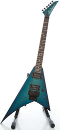 Musical Instruments:Electric Guitars, Jackson Professional Model Blueburst Solid Body Electric Guitar,Serial #702957....