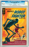 Silver Age (1956-1969):Science Fiction, Magnus Robot Fighter #28 Twin Cities pedigree (Gold Key, 1969) CGCNM+ 9.6 White pages....