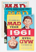 Magazines:Mad, Mad #61-70 Group (EC, 1961) Condition: Average VF.... (Total: 10 Comic Books)