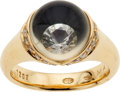 Estate Jewelry:Rings, Diamond, Quartz, Gold Ring, Mauboussin, Paris. ...