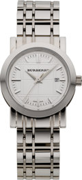 Estate Jewelry:Watches, Burberry Lady's Stainless Steel Wristwatch. ...