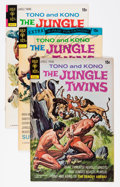 Bronze Age (1970-1979):Miscellaneous, The Jungle Twins File Copy Group (Gold Key, 1972-75) Condition:Average VF+.... (Total: 10 Comic Books)