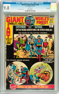 World's Finest Comics #206 Twin Cities pedigree (DC, 1971) CGC NM/MT 9.8 White pages