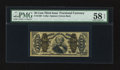 Fractional Currency:Third Issue, Fr. 1339 50¢ Third Issue Spinner Type II PMG Choice About Unc 58 EPQ.. ...