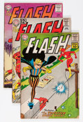 Silver Age (1956-1969):Superhero, The Flash Group (DC, 1961-65) Condition: Average GD/VG.... (Total: 9 Comic Books)