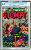 Silver Age (1956-1969):War, G.I. Combat #124 Big Apple pedigree (DC, 1967) CGC NM 9.4 Cream to off-white pages....