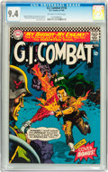 Silver Age (1956-1969):War, G.I. Combat #118 (DC, 1966) CGC NM 9.4 Off-white to white pages....