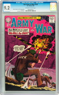 Our Army at War #130 (DC, 1963) CGC NM- 9.2 Off-white to white pages