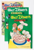 Golden Age (1938-1955):Cartoon Character, Walt Disney's Comics and Stories Group (Dell/Gemstone, 1953-07)....(Total: 15 Comic Books)
