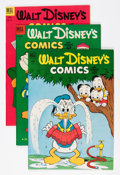 Golden Age (1938-1955):Cartoon Character, Walt Disney's Comics and Stories Group (Dell/Gold Key, 1952-79)Condition: Average VF-.... (Total: 5 Comic Books)