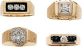 Estate Jewelry:Rings, Diamond, Sapphire, Gold Rings. ...
