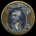 Encased Postage: , HB-26 EP-183a Reed-AP90 90¢ Take Ayer's Pills Extremely Fine.. ...
