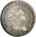 Early Dollars: , 1799/8 $1 15 Stars Reverse XF40 NGC. B-3, BB-141, R.3. Die StateIV. Overdate; 15 reverse sta...