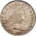 Early Dollars: , 1799/8 $1 13 Stars Reverse XF40 PCGS. B-1, BB-142, R.4. Thisoverdate variety is promptly con...