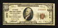 National Bank Notes:Kentucky, Frankfort, KY - $10 1929 Ty. 1 The National Branch Bank of KentuckyCh. # 5376. ...