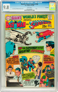 Silver Age (1956-1969):Superhero, World's Finest Comics #188 Twin Cities pedigree (DC, 1969) CGC NM/MT 9.8 White pages....