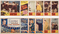 """Football Collectibles:Others, 1931 """"Spirit of Notre Dame"""" Lobby Cards Lot of 12...."""