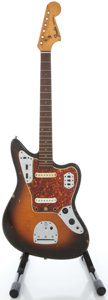Musical Instruments:Electric Guitars, 1963 Fender Jaguar Refinished Solid Body Electric Guitar, Serial#L22414....