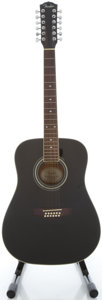 Musical Instruments:Acoustic Guitars, Fender DG-16-12 Black 12 String Acoustic Guitar, Serial #00060878....
