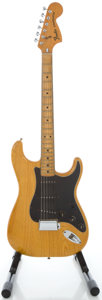 Musical Instruments:Electric Guitars, 1977 Fender Stratocaster Refinished Solid Body Electric Guitar,Serial #S772932....
