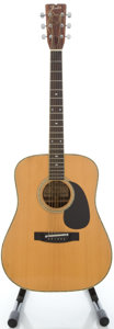 Musical Instruments:Acoustic Guitars, Circa 1980 Fender F-65 Natural Acoustic Guitar, Serial #127E....