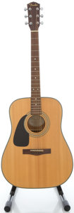 Musical Instruments:Acoustic Guitars, Fender DG-10LH Lefty Natural Acoustic Guitar, Serial #CD03107322....