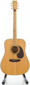 Musical Instruments:Acoustic Guitars, Circa Late 1970's Ibanez Concord Natural Acoustic Guitar, Serial#D772211....