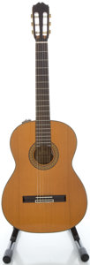 Musical Instruments:Acoustic Guitars, Circa 1970's Takamine EC136S Natural Classical Guitar...