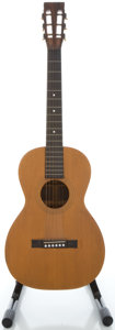 Musical Instruments:Acoustic Guitars, 1900's Washburn New Model Natural Acoustic Guitar, Serial#86836....
