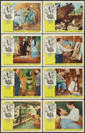 """Movie Posters:Romance, The World of Suzie Wong (Paramount, 1960). Lobby Card Set of 8 (11"""" X 14""""). Romance.. ... (Total: 8 Items)"""