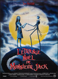 """Movie Posters:Fantasy, The Nightmare Before Christmas (Touchstone, 1993). French Grande(47"""" X 63""""). Fantasy.. ..."""