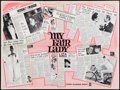 """Movie Posters:Musical, My Fair Lady (Warner Brothers, 1964). British Quad (30"""" X 40"""") Review Style. Musical.. ..."""