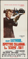 "Movie Posters:Crime, Dirty Harry (Warner Brothers, 1971). Italian Locandina (13"" X27.5""). Crime.. ..."